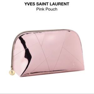 YSL Cosmetic Bag- Clutch Makeup- Pouch